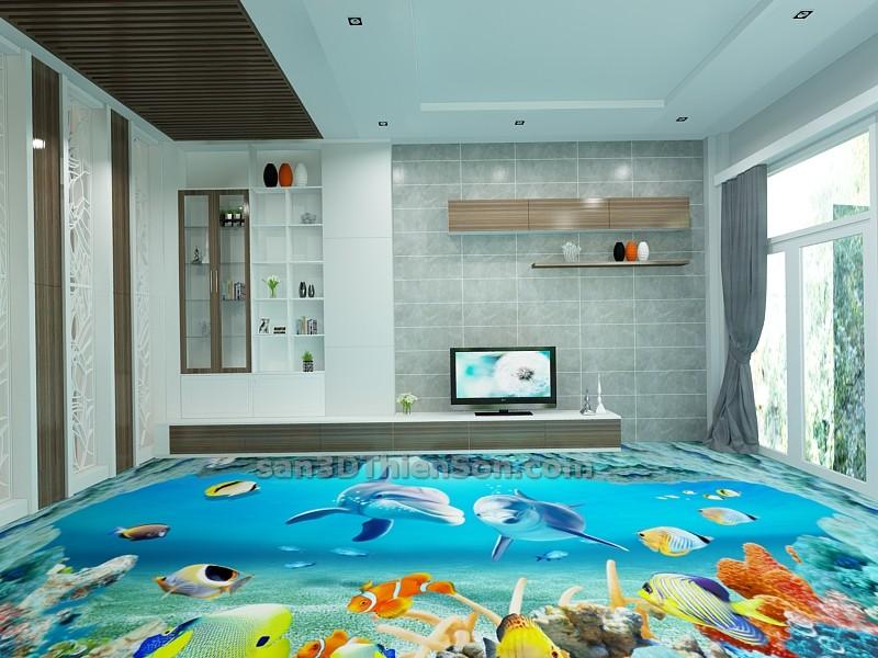 Sàn nhà 3D tại Việt Nam
