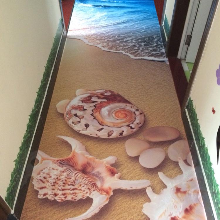 Sàn 3D cho hành lang