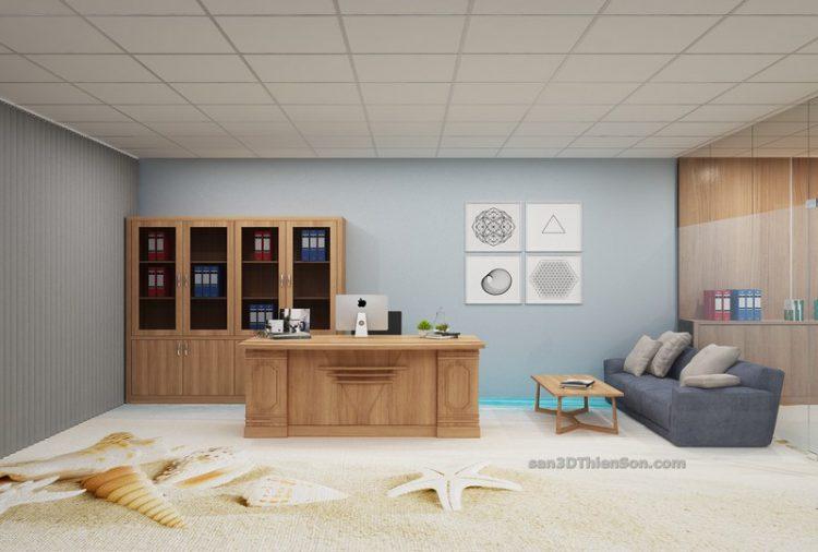 Sàn 3D thi công cho văn phòng làm việc