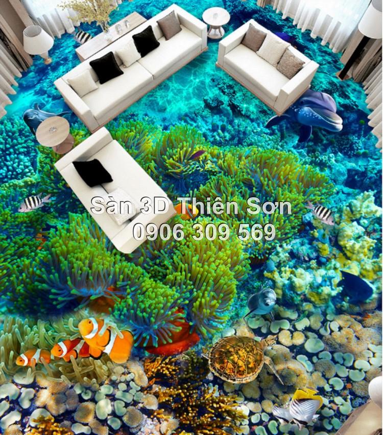 Sàn 3D tại Việt Nam