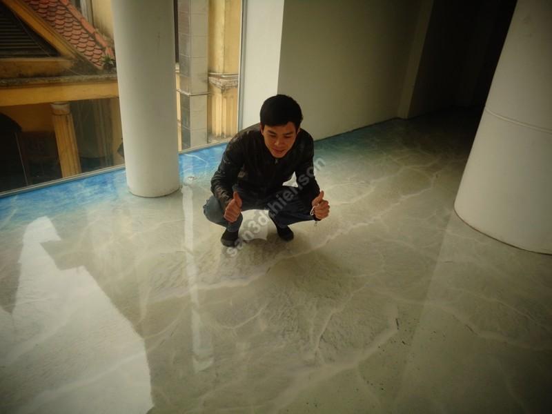 Chúng tôi đã phát triển thành công sàn 3D tại Việt Nam